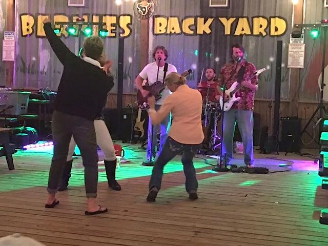 Loud Love Band at Bernies Backyard