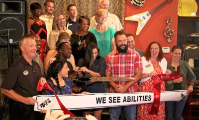 we see abilities ribbon cutting the woodlands