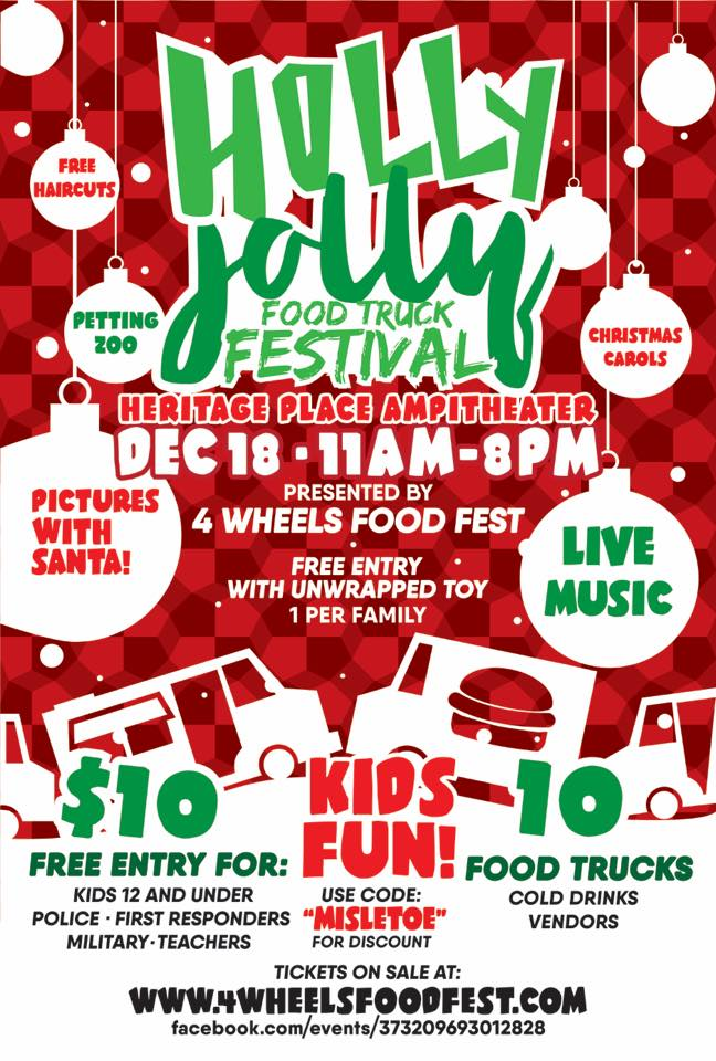 Holly Jolly Food Truck Festival & Ticket Giveaway | Hello