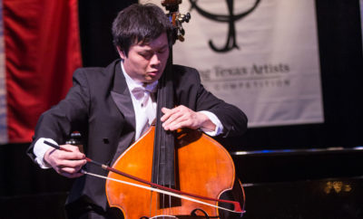 Peng Wang Texas Music Competition
