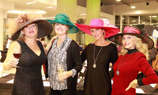 tea on the lawn chapeaux for charity 2017