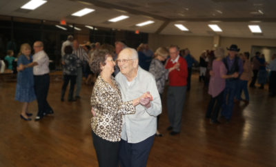 John Allen and Dottie Bruce Dance the Two-Step