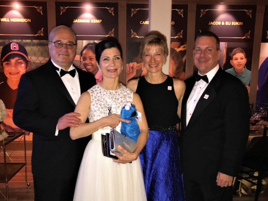 Tony and Cynthia Petrello with Barbara and Mike Feigin
