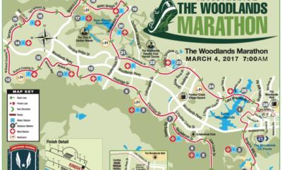 the woodlands marathon course