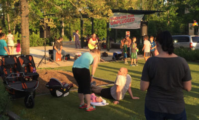 Creekside Park® Unplugged Concert Series