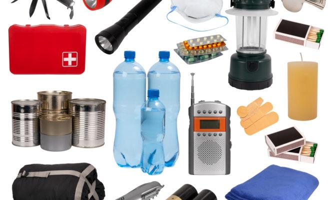 emergency preparation supplies
