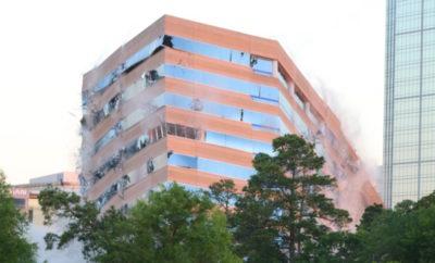 Timberloch Building Implosion