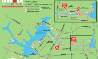 Traffic Impact IRONMAN Texas The Woodlands 2017