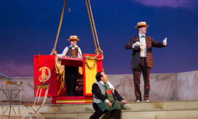 "Houston Grand Opera Brings ""The Elixir of Love"" to The Cynthia Woods Mitchell Pavilion May 26"
