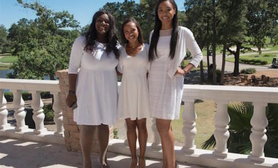 Jack and Jill of America Graduating Seniors (Tianna, Mia, Sydney)