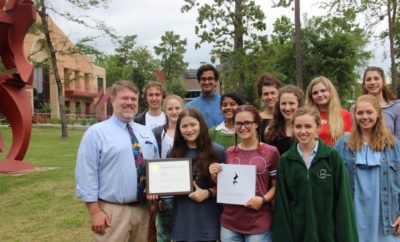 "Cooper's Literary Magazine Awarded ""Pulitzer of Student Journalism"""