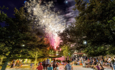 Kick off summer in The Woodlands at the Memorial Day Sunday Festival with live music, children's activities and fireworks, Sunday, May 28, 2017, from 4 to 9 p.m. at Town Green Park, 2099 Lake Robbins Drive.