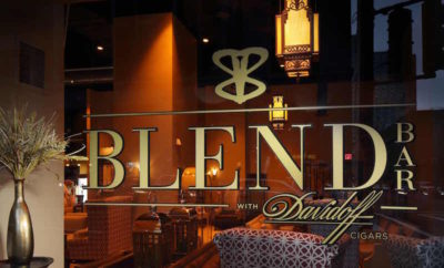BLEND cigar bourbon bar woodlands