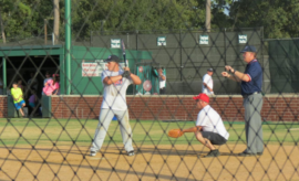In celebration of National Night Out, watch the Montgomery County Sheriff's Office and The Woodlands Fire Department battle it out at the annual Boots vs. Badges Softball Game