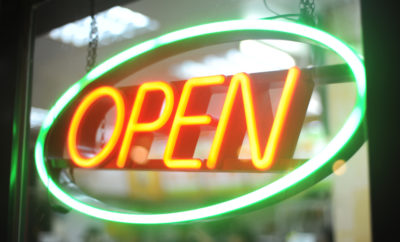 business open the woodlands