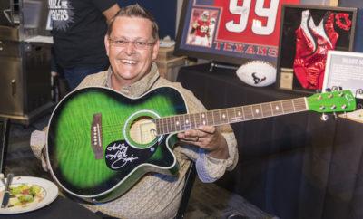 Pre-Concert Fundraiser 2016 Guitar Auction