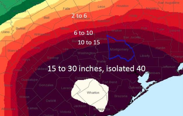 The Woodlands Texas Flooding >> Flood Safety during Hurricane Harvey | Hello Woodlands
