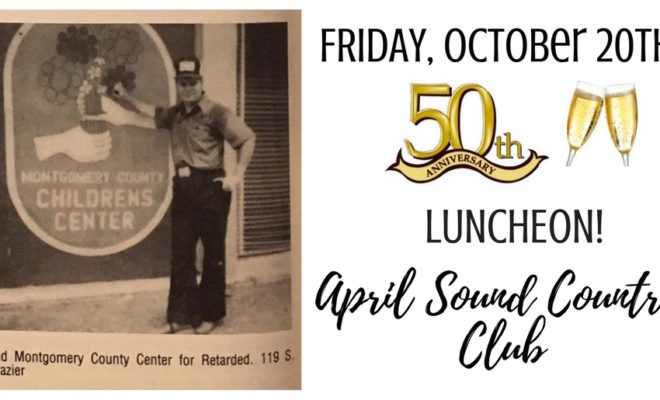 Bridgewood Farms is celebrating 50 years of serving the Special Needs families in Montgomery County with a luncheon on Friday, October 20.