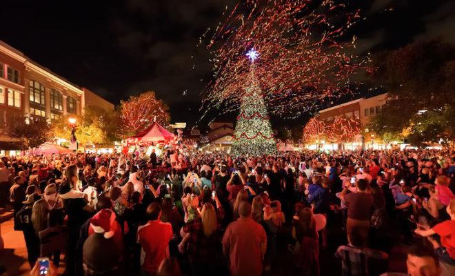 Woodlands Market Street Christmas Tree 2020 Photos Market Street Christmas Tree Lighting Set for Thursday November 21