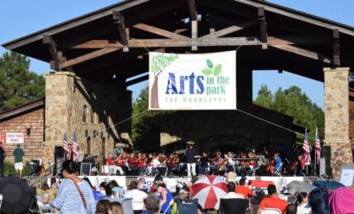 arts in the park the woodlands