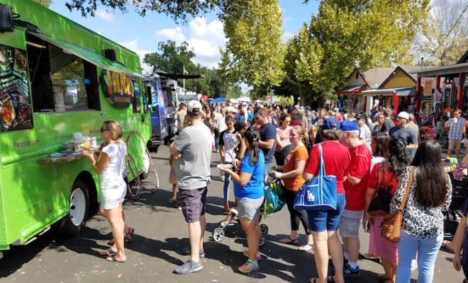 Freight Train Food Truck Festival tomball