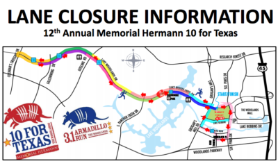 memorial hermann 10 for texas road closures