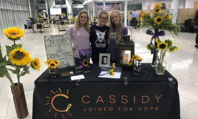 cassidy joined for hope community reveal