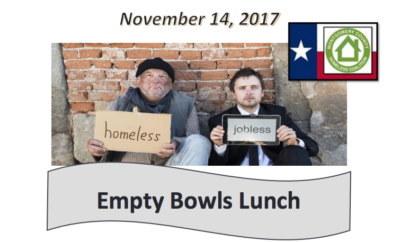 The Montgomery County Homeless Coalition Presents 'Empty Bowls Lunch' & E3 Center Tour