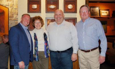 Breakfast hosted by Constable Ryan Gable and Longhorn Steakhouse raises $9,480 for Children's Safe Harbor.