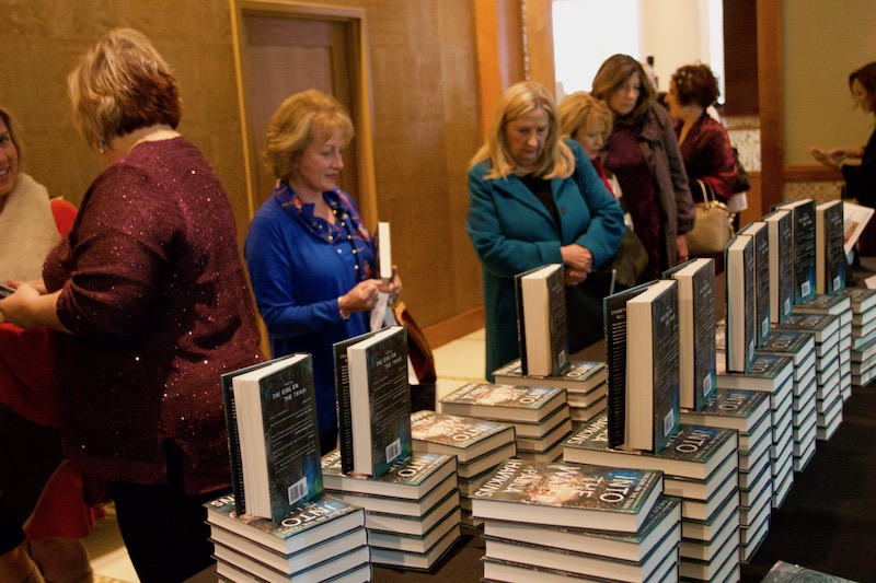 The 13th Annual Signature Author Series featured keynote author, Paula Hawkins, author of The Girl On The Train, on Friday, December 8.