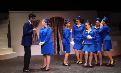 "THE WOODLANDS, TX - The Woodlands College Park Performing Arts Department presents the ""Catch Me If You Can, The Musical"" directed by Valerie Roberts Labonski with performances at The Woodlands College Park Auditorium on Thursday, January 25 through Saturday, January 27, 2018."
