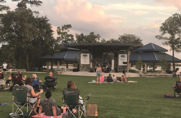 Photo; Mark your calendars for the Concert in the Park music series, which kicks off on Sunday, March 4, 2018 at Northshore Park, 2505 Lake Woodlands Drive.