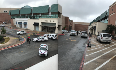 The Montgomery County Sheriffs Office along with Montgomery County Fire Marshal's Office are currently on scene of a suspicious package at the Woodlands Mall. Two stores have been evacuated as a precaution.