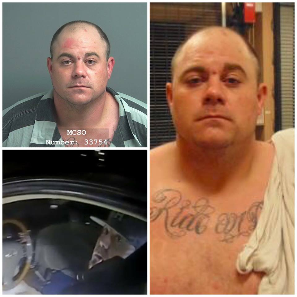 Just after midnight on March 31, 2018, Raymond Lynch was arrested and brought to the Montgomery County Jail. Lynch was wanted for aggravated assault for the shooting of a Conroe Police Officer on March 27, 2018.