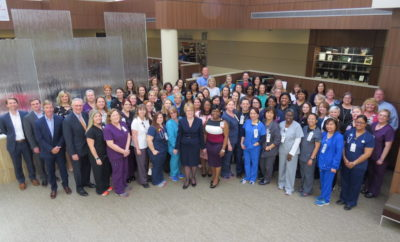In celebration of Certified Nurses Day on March 19, Memorial Hermann The Woodlands Medical Center, the first and only Magnet® designated facility in Montgomery County, recognized its more than 280 certified Registered Nurses who earn and maintain the highest credentials in their specialty.