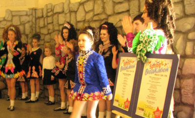 St. Patrick's Day irish dancers childrens museum the woodlands