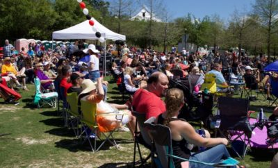 """The inaugural Tribute to Woodlands Music Festival was """"an experience to remember"""" as thousands experienced live music and fun in Town Green Park on Saturday, March 31, 2018 from 12 p.m. to 11 p.m."""