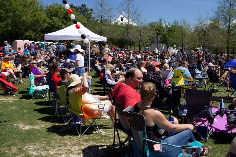 "The inaugural Tribute to Woodlands Music Festival was ""an experience to remember"" as thousands experienced live music and fun in Town Green Park on Saturday, March 31, 2018 from 12 p.m. to 11 p.m."