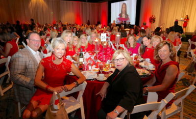 2018 go red for women lunch american heart association