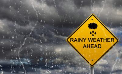 rainy weather ahead