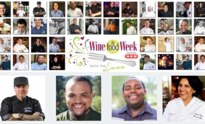 wine food week chefs 2018