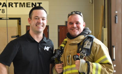 Spring Firefighter returns to duty after serious injury