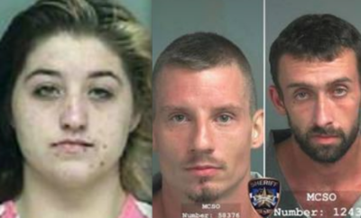 Sheriff's Office arrest two for burglary, one still at large in Magnolia.