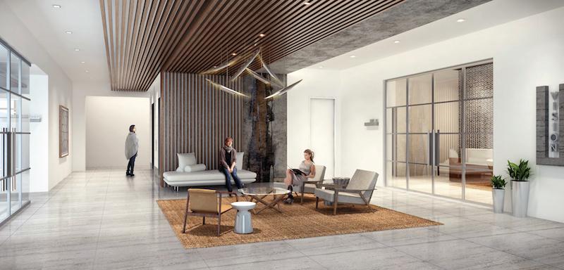 Rendering of 121 Vision Park Medical Office Building Interior.