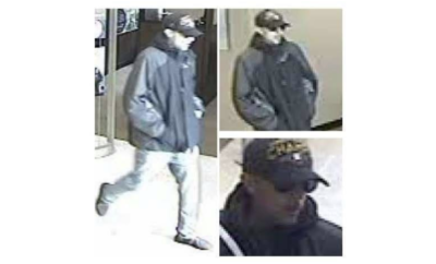 On Friday, September 21, 2018 at about 11:20am, a white mail suspect entered the Chase Bank located at 2100 Buckthorne in The Woodlands and passed the teller a note demanding money.