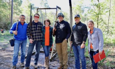Meals on Wheels Montgomery County (MOWMC) hosted The Great Pumpkin Shoot, a NSCA registered sporting clay tournament, on Friday, October 26, 2018 at the Blackwood Gun Club in Conroe, Texas.