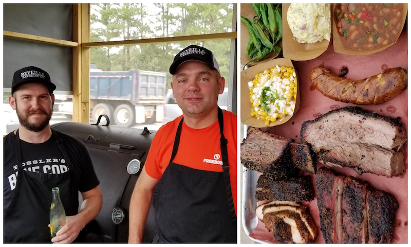 James McFarland & Michael Michna - Magnolia, TX - (BBQ Sampler Trey featuring Taco Sausage and 44 Farms Beef Short Rib)