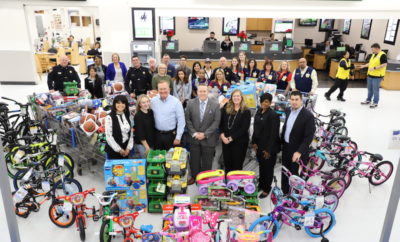 Sheriff and Partners Come Together to Purchase Gifts for Operation Blue Elf