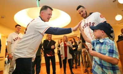 The Houston Astros will be visiting The Woodlands during 2019 Astros Caravan on January 24th at the Fountains at Waterway Square.