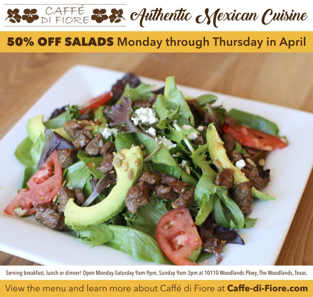 Caffe di Fiore Salads April